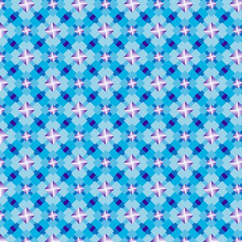 Trendy Tetragons 3 fabric by jjtrends on Spoonflower - custom fabric