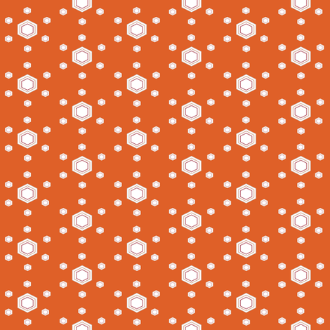 Hexakoi Right fabric by americanmom on Spoonflower - custom fabric