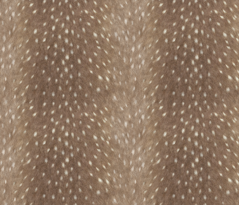 Soft Deer Hide Fabric and Wallpaper in Taupe fabric by willowlanetextiles on Spoonflower - custom fabric