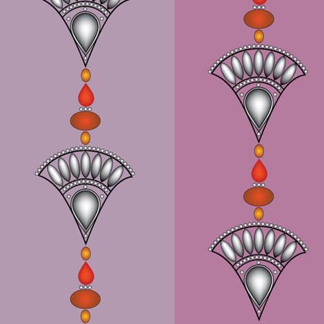 Rajasthan fabric by heatherdoodle on Spoonflower - custom fabric