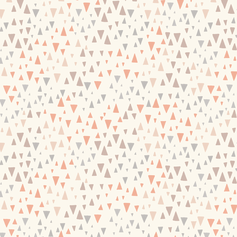 Pastel Triangles fabric by kimsa on Spoonflower - custom fabric
