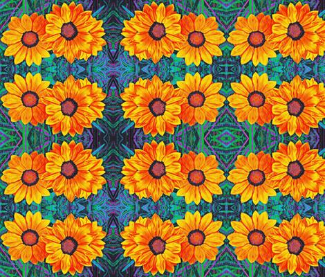 beautiful yellowed 2 fabric by ann-dee on Spoonflower - custom fabric