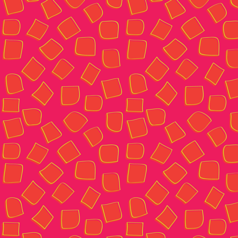 Ecailles d'orange fabric by supersophie on Spoonflower - custom fabric