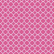 Raspberry Quatrefoil
