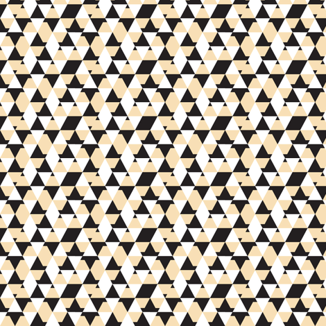 Pencil Heel Geo Pattern fabric by tscho on Spoonflower - custom fabric