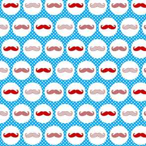 MoustacheSpotsBlueRed