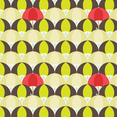 umbrella-scale fabric by elodie-lauret on Spoonflower - custom fabric