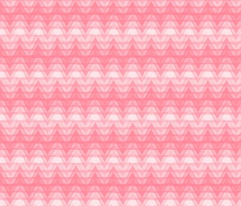 Zig Zag Pink [small print] fabric by lydia_meiying on Spoonflower - custom fabric