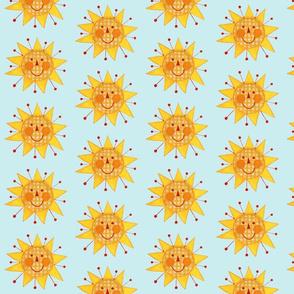 Plaid Sun