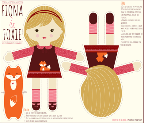 FIONA fabric by stacyiesthsu on Spoonflower - custom fabric