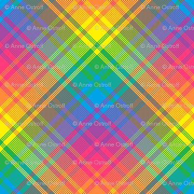 Rainbow Plaid 04