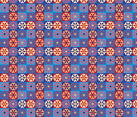 SOOBLOO_SQUARES_-01 fabric by soobloo on Spoonflower - custom fabric