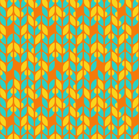 Sunburst Knits fabric by momshoo on Spoonflower - custom fabric