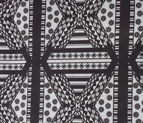Multi Print 1 Black and White