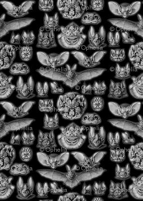 Vintage Bats Pattern