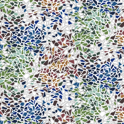 Shattered fabric by rebeccajean on Spoonflower - custom fabric