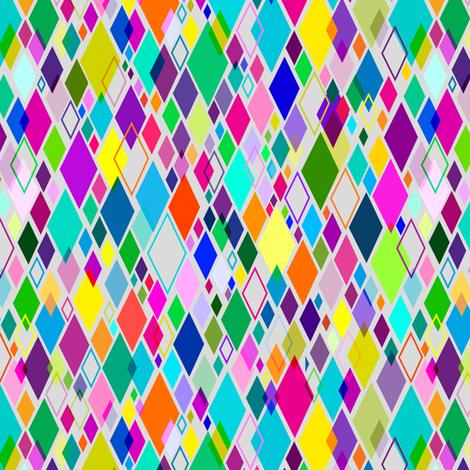 Geo Confetti fabric by spicysteweddemon on Spoonflower - custom fabric