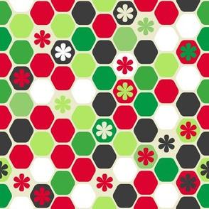 BZB Honeycomb Christmas