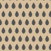 Tan raindrop