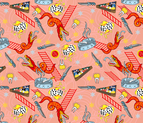 The_last_laugh fabric by susiprint on Spoonflower - custom fabric