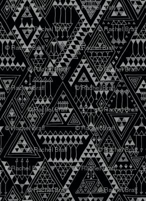 doodles - black
