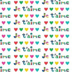 je t'aime hearts