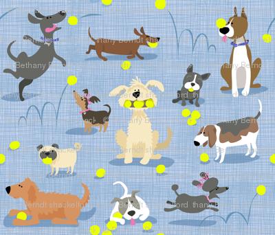 Tennis Dogs