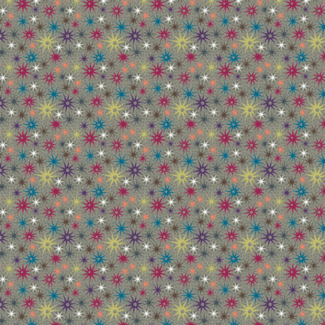 geostars fabric by wellrock_designs on Spoonflower - custom fabric