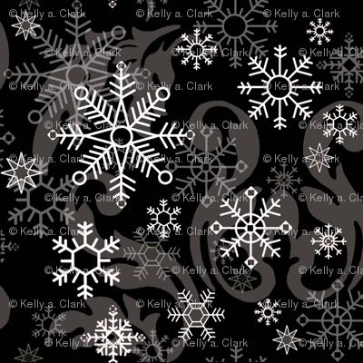 New_Snowflake_Black_Damask