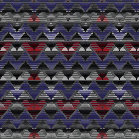 CozyCabinGeo fabric by ariel_lark_designs on Spoonflower - custom fabric