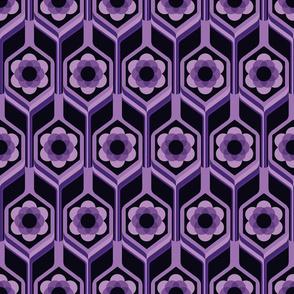 Black Violet Flowers