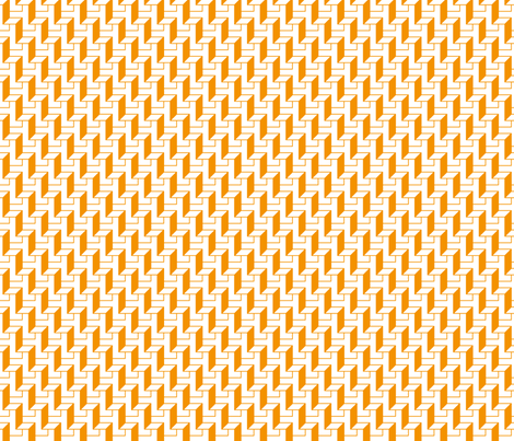 tangerine walls fabric by zev_nz on Spoonflower - custom fabric
