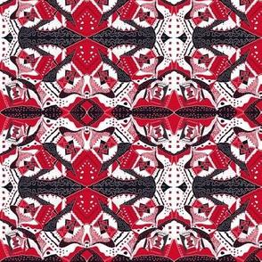 TRICHROMATIC DELIRIUM RED Geometric