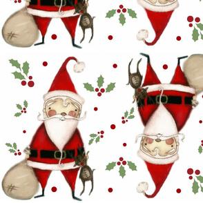 Ho Ho Ho and holly