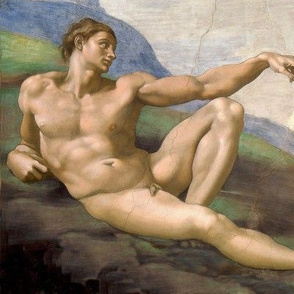 Creation of Adam (1512) - Michelangelo