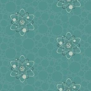 Galactic Atom Turquoise