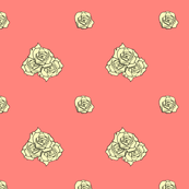 Roses on Coral