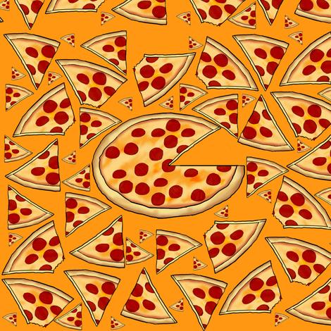 Pizza Pie fabric by fk on Spoonflower - custom fabric
