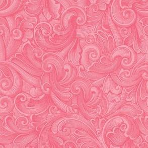 Engraved Swirls 1 - Pink