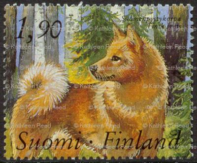 Finnish_Spitz_Postage_Stamp