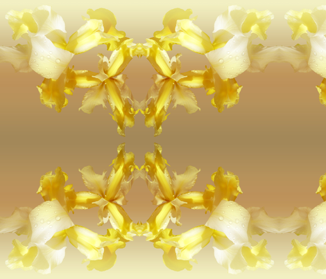 Lemon zest  fabric by valzart on Spoonflower - custom fabric