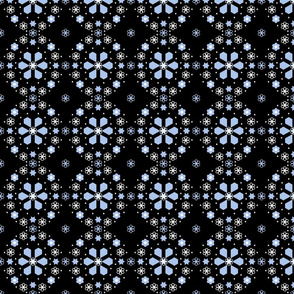 Winter Night medallion_4_inch_black