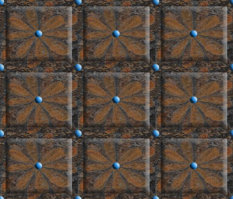 Flower_brown_layered_divided_beveled_shop_preview