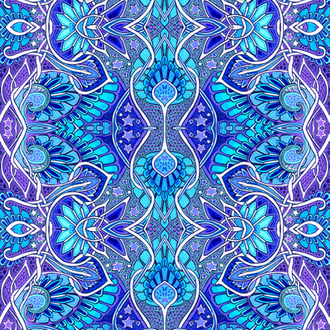 Spread Your Spirit Wings and Fly fabric by edsel2084 on Spoonflower - custom fabric