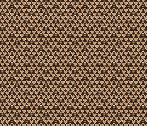 I Love a Latte fabric by jolenebalyeatdesigns on Spoonflower - custom fabric