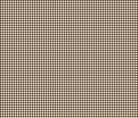 Brown Gingham fabric by jolenebalyeatdesigns on Spoonflower - custom fabric