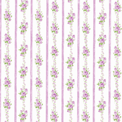 Best Rose Ticking Lilac fabric by parisbebe on Spoonflower - custom fabric