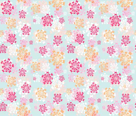 flower squared fabric by keweenawchris on Spoonflower - custom fabric