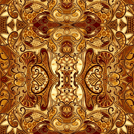 Let's Drop By King Midas Place fabric by edsel2084 on Spoonflower - custom fabric