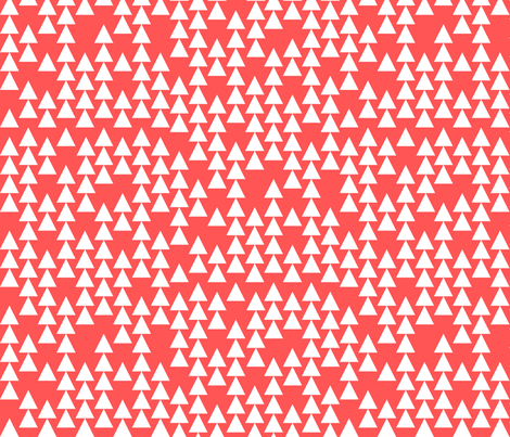 coral_arrows fabric by holli_zollinger on Spoonflower - custom fabric